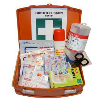 Montør førstehjelpsskrin